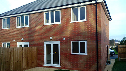 New Build Houses by our bricklayers and builders in East Northamptonshire
