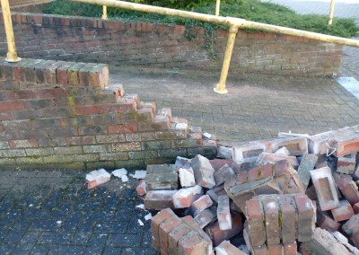 Masonry Wall Repair In Daventry, Northamptonshire 2