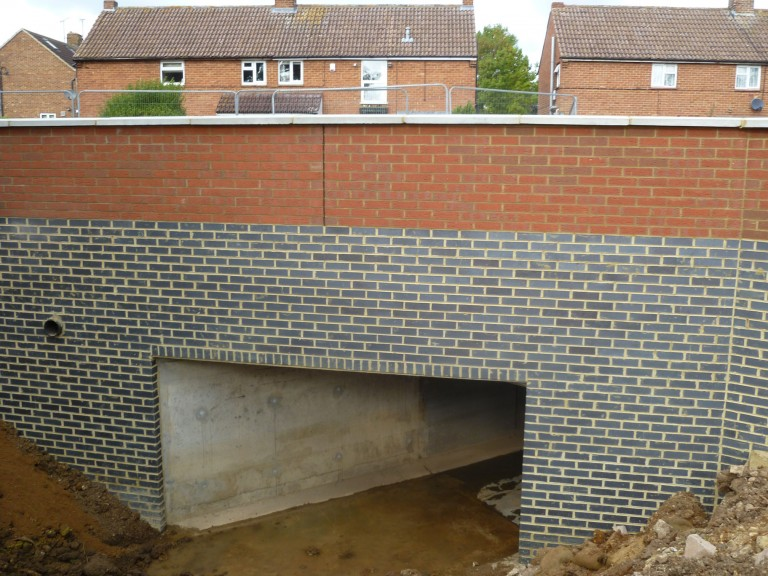 Brick Culvert Construction In Milton Keynes