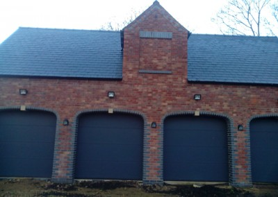 New Build Quadruple Garage In Wilby, Northamptonshire 1