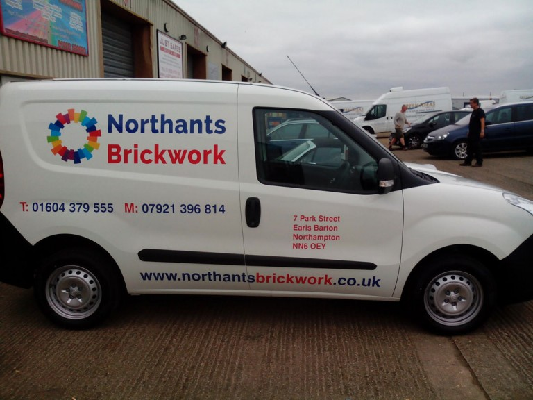 Northants Brickwork Van Graphics