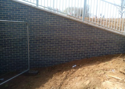 Subway Brickwork At Northampton's Round Spinney Roundabout 1