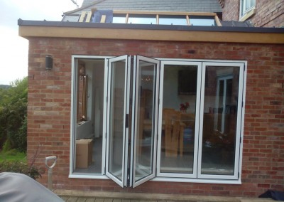 House Extension In Northampton With Folding Patio Doors 1
