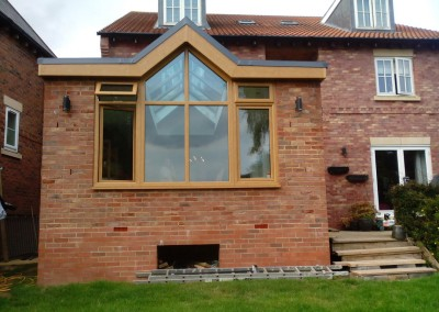 House Extension In Northampton With Folding Patio Doors 2