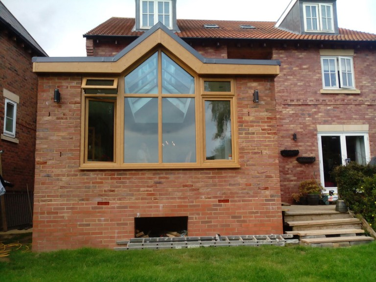 House Extension In Northampton With Folding Patio Doors