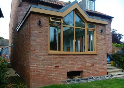 House Extension In Northampton With Folding Patio Doors 3
