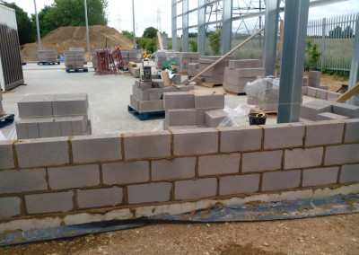 Warehouse Unit Construction In Northamptonshire 1