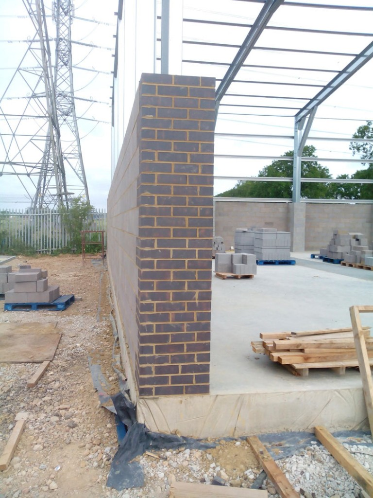 Warehouse Unit Construction In Northamptonshire