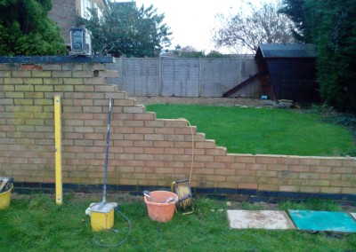 Our Bricklayers Rebuilt This Wall In Northampton 2