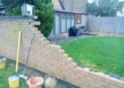 Our Bricklayers Rebuilt This Wall In Northampton 3