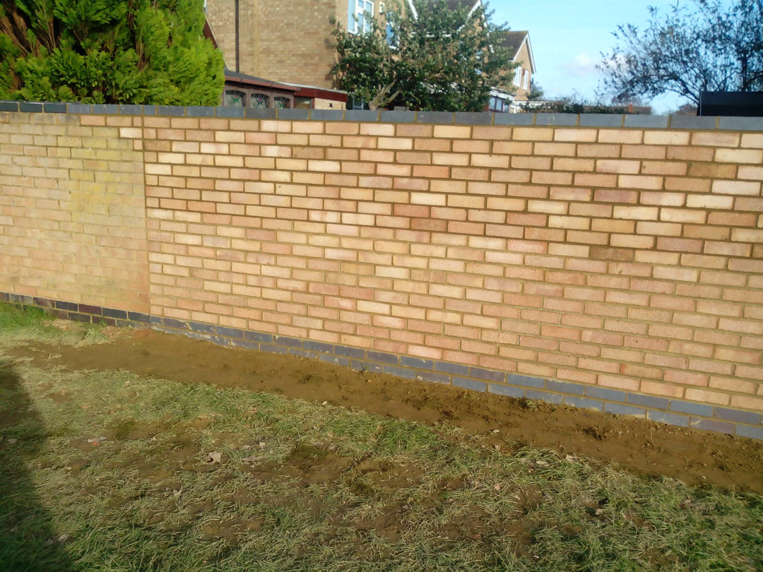 Our Bricklayers Rebuilt This Wall In Northampton
