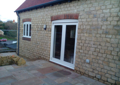 New Build House Built with Traditional Random Stone in Northampton 10